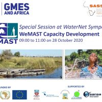 WeMAST Capacity Development Special Session at WaterNet Symposium