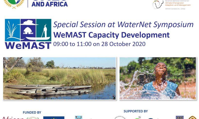 WeMAST Capacity Development Special Session at WaterNet Symposium