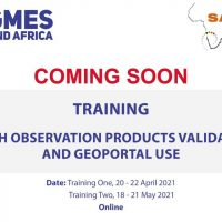TRAINING ON EARTH OBSERVATION PRODUCTS VALIDATION AND GEOPORTAL USE